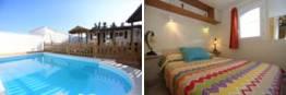 apartamento rural con piscina privada