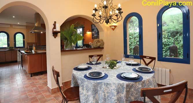 mesa comedor y despacho