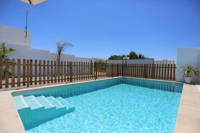piscina escalones