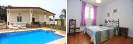 Villa rural en Conil en alquiler con piscina.