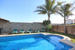 Alquiler de chalet en Conil con piscina.