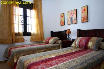 Todas las camas de los dormitorios son de calidad.