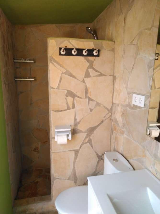 ducha del cuarto bano exterior
