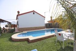 Alquiler casa con piscina a 5 minutos de Conil