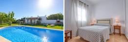 Chalet con piscina privada a la entrada de conil