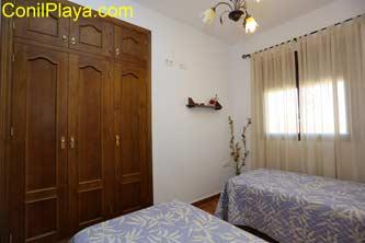 armario empotrado dormitorio 2 camas