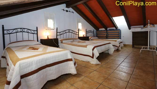 Dormitorio de la planta superior