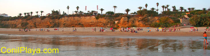 Playa de La Fuente del Gallo, Conil.