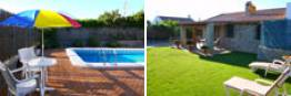 Chalet en Conil de la Frontera con piscina, Cadiz, situado en zona muy tranquila