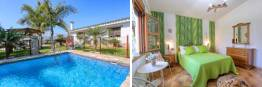 chalet con piscina privada
