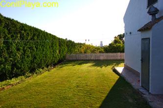 jardin lateral