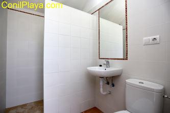 cuarto de baño exterior