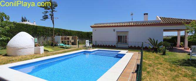 piscina del chalet