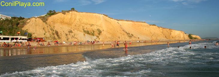 Playa de la Fuente del Gallo, Conil