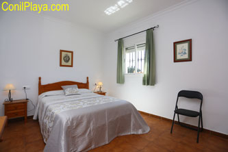 Dormitorio principal del chalet
