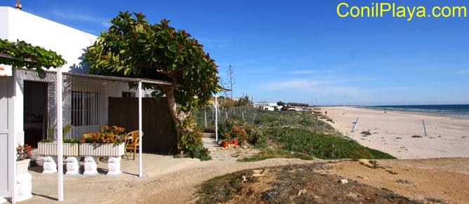 Estudio situado en la misma playa de la Fontanilla