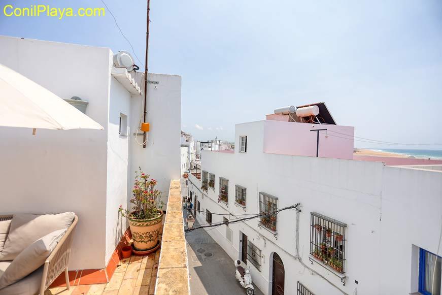 vista exterior del estudio - Habitaciones en Conil en alquiler directamente por particulares.