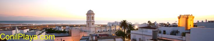 Conil e iglesia Santa Catalina