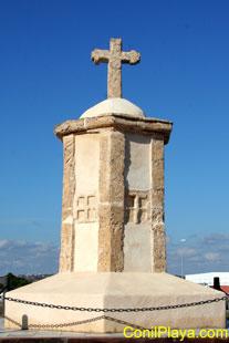 Cruz de Moreno. Se encuentra a la entrada de Conil.
