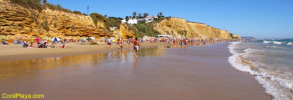 Conil, Playa de la Fuente del Gallo
