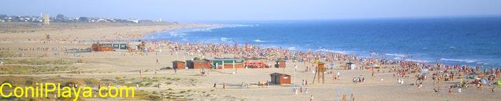 Playa de los Bateles, Conil. 19 de Agosto de 2007