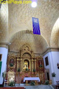 Retablo de La Patrona de Conil, Nuestra Señora de las Virtudes.