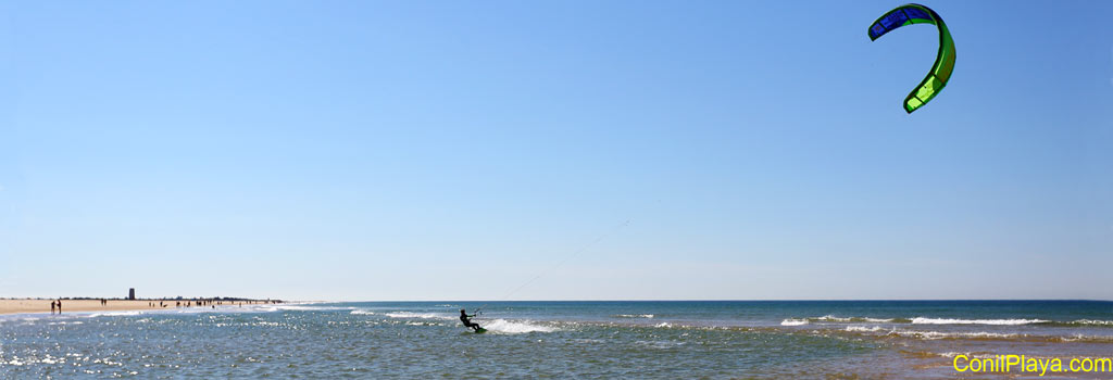 kitesurf en Conil