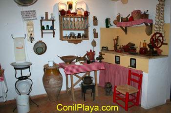Museo de Raices Conileñas: Cocina antigua.