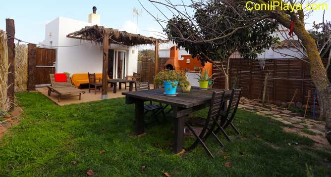 Apartamento en El Palmar con jardín