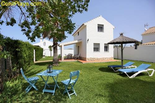 Casa en El Palmar en alquiler cerca de la playa.