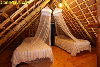 Dormitorio de la planta superior.