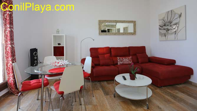 2 sofás de 2 plazas