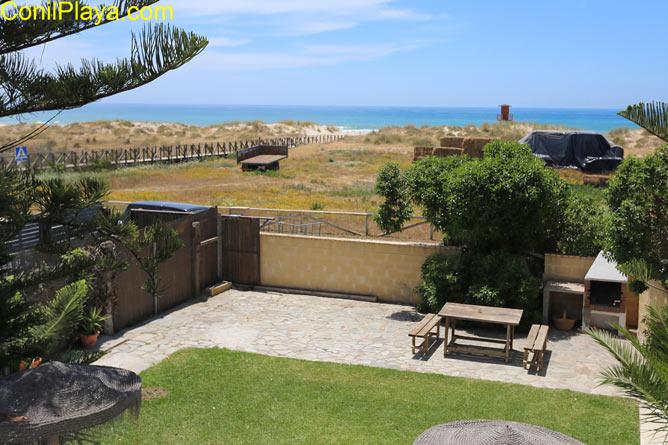 Casa en El Palmar en primera linea de playa