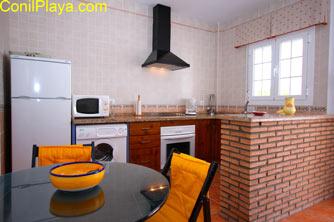 cocina de la casa en El Palmar