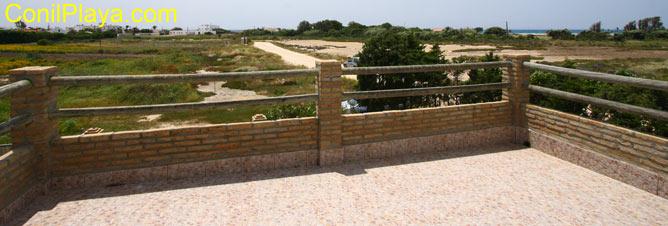 Terraza con vistas al Palmar