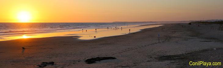 Playa del Palmar a la altura de Torre Nueva