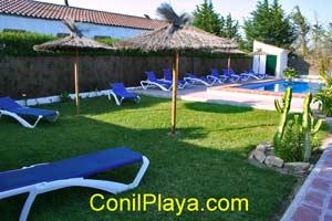 Casas en el Palmar con piscina
