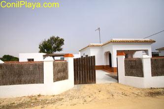 Casa en El Palmar con merendero y barbacoa