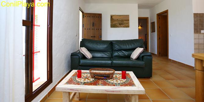 sofá del salón de 2 plazas