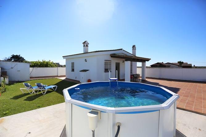 chalet en El Palmar con piscina
