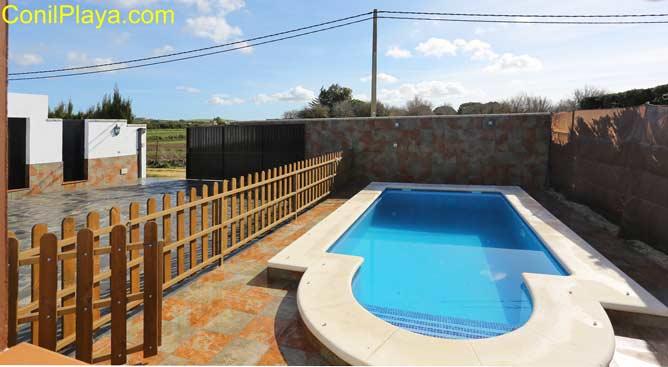 piscina vallada