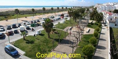 Vistas desde el Hostal de la playa de Los Bateles y El Chorrillo