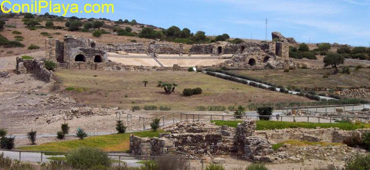 Teatro de las ruinas de Baelo Claudia