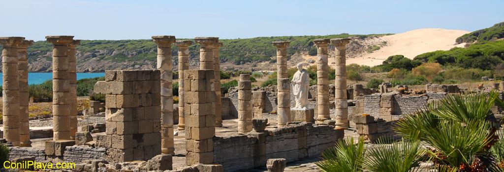 Ruinas de Baelo Claudia, bolonia