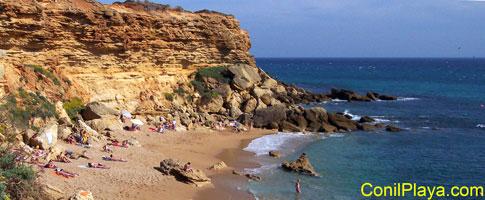 Calas de Roche: Cala del Faro.