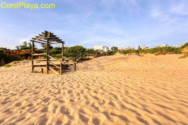 La Playa de Roche es una playa muy tranquila.