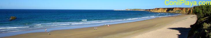 Playa de la Fuente del Gallo.