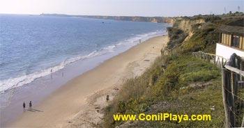 Vista de la playa desde El Roqueo.