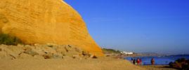 Playa de El Roqueo.
