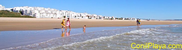 Playa de El Chorrillo el 12 de Octubre de 2009 (Excelente día de playa).